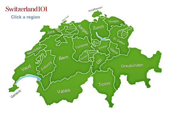 Switzerland-map