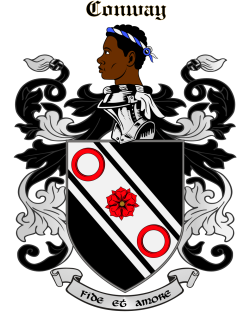 CONWAY family crest