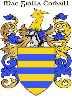 COYLE family crest