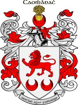 CAVANAGH family crest