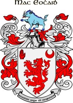 KEHOE family crest