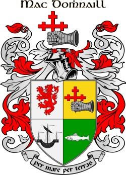 MACDONALD family crest