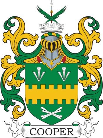 COOPER family crest