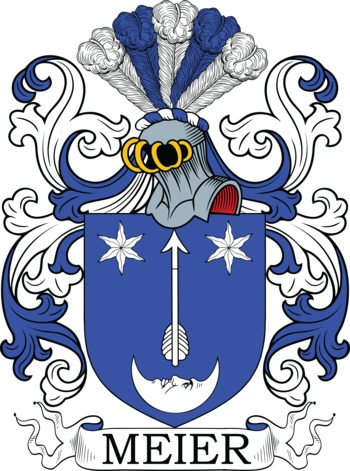 MEIER family crest