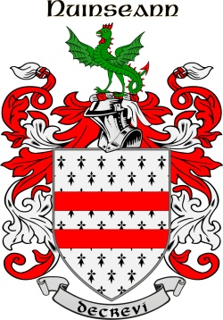 NUGENT family crest