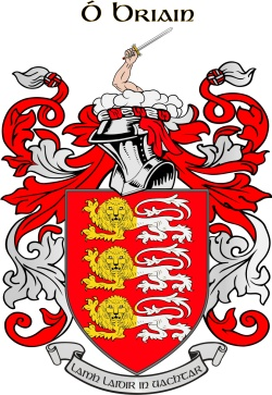 BRIEN family crest
