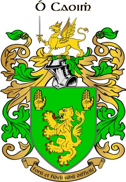 KEEFFE family crest